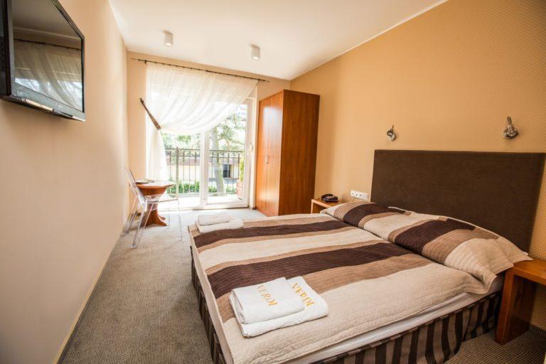 Pokój standard PLUS w Villa Verdi Łeba