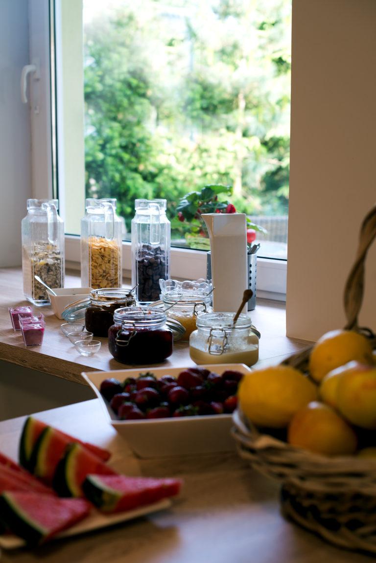 Posiłki w kuchni Villa Verdi - świeże i smaczne śniadania