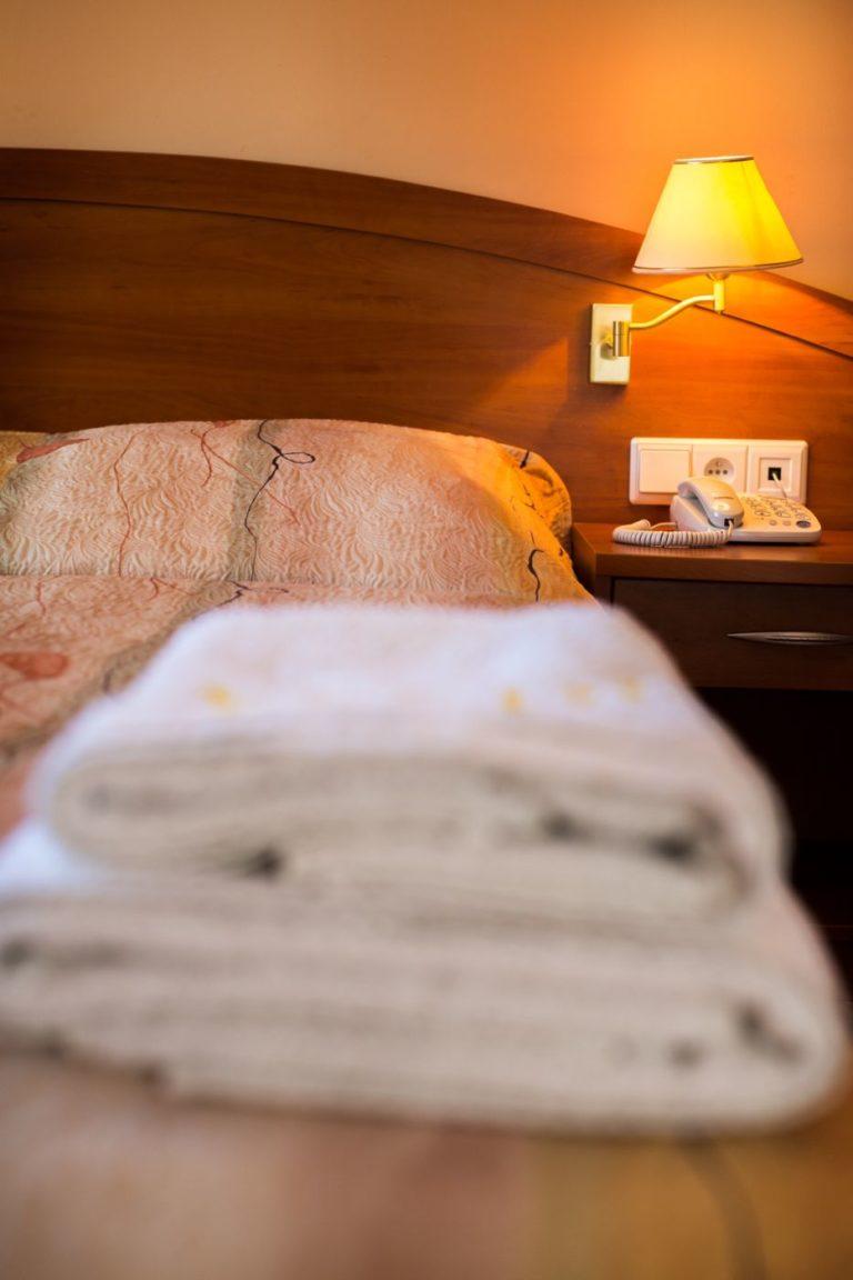 Ręczniki w pokoju Villa Verdi Pleasure & SPA Łeba