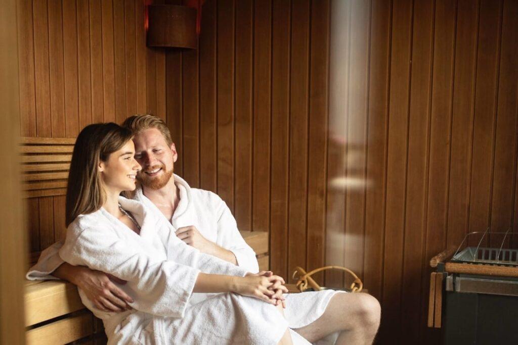 sauna I spa na weekend